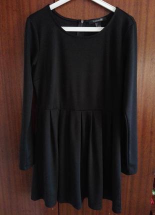 Черное платье forever 21