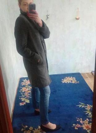 Стильное модное пальто бойфренд (oversize)marks&spencer.