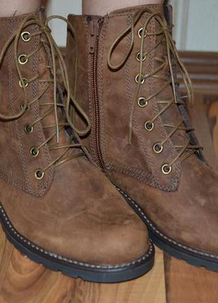 Новые кожаные ботинки clarks оригинал