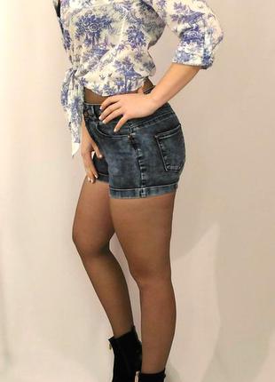 860 джинсовые шорты варенки new look