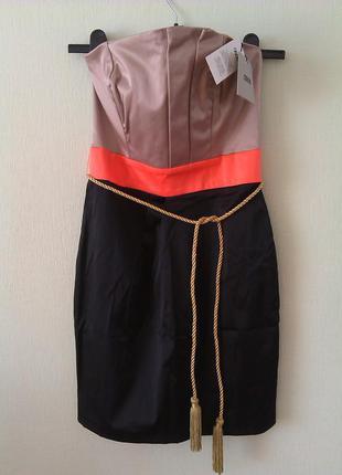 Шикарное платье бюстье asos