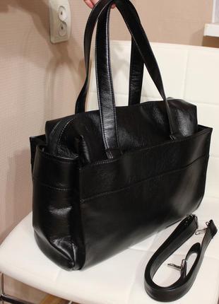 Большая сумка черная