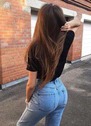 Супер модные джинсы mom's 100 % cotton