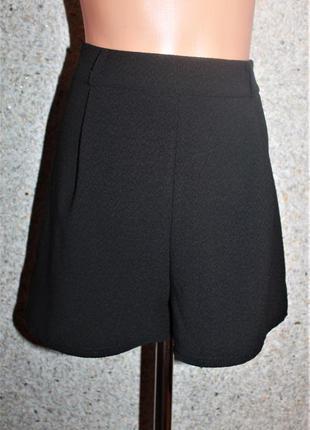 """❗❗❗акция """"скидка 20% на все"""" (до 21.02)❗❗❗ шорты-юбка, текстурная ткань от new look"""