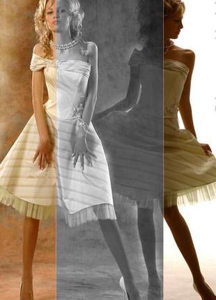Эксклюзивное дизайнерское вечернее платье от оксаны мухи!