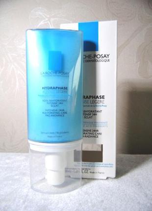 Увлажняющий крем для нормальной и комбинированной кожи hydraphase legere la roche-posay