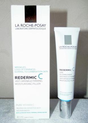 Антивозрастной крем для нормальной и комбинированной кожи redermic c для лица