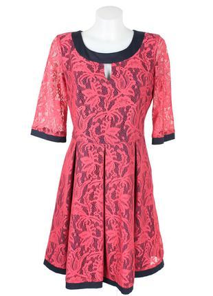 Гипюровое платье на подкладке