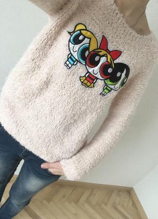 Модный свитер травка