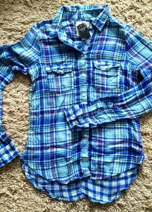 Рубашка abercrombie and fitch
