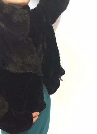 Шикарный натуральный норковый полушубок / автоледи