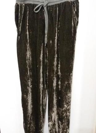 Велюровые брюки twin set simona barbieri