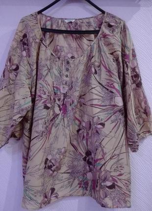 Очень красивенькая блуза с принтом фирмы indigo