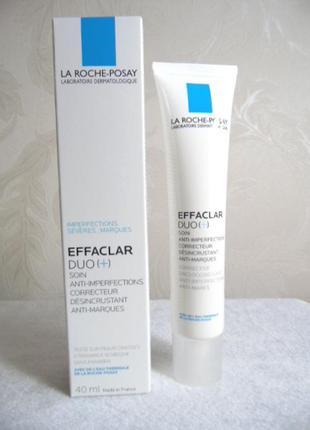Крем-гель для проблемной кожи effaclar duo+ от la roche-posay