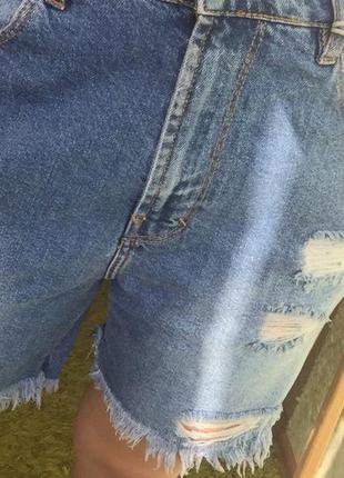 Новые джинсовые шорты с биркой pull&bear