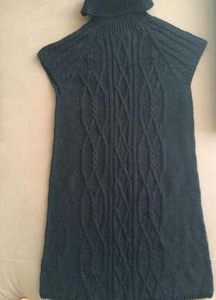 Стильное вязаное платье zara