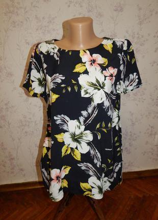 F&f блузка вискозная стильная модная р12