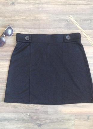Крута чорна юбка george