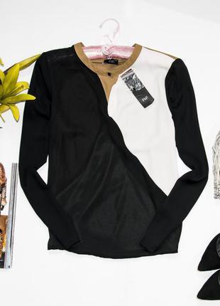 Очень стильная легкая блуза f&f