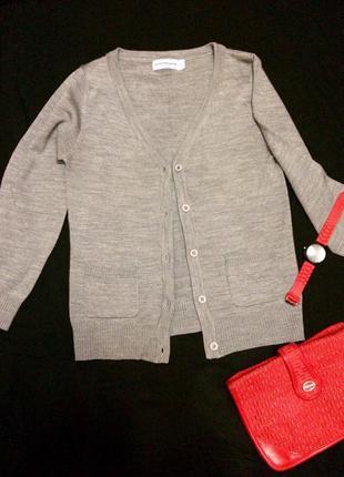 Фирменная кофта,кардиган,кофточка outfitters nation+подарок ремень