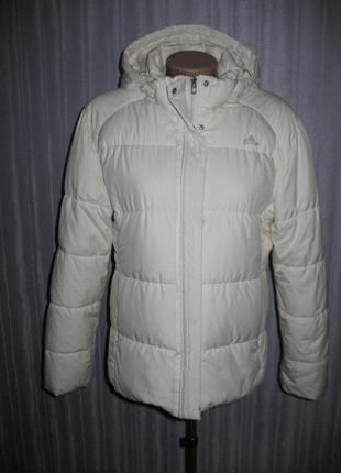 Курточка пуховая, белая.