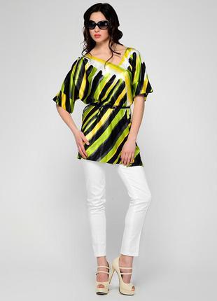 Летняя удлиненная блуза от iren klairie