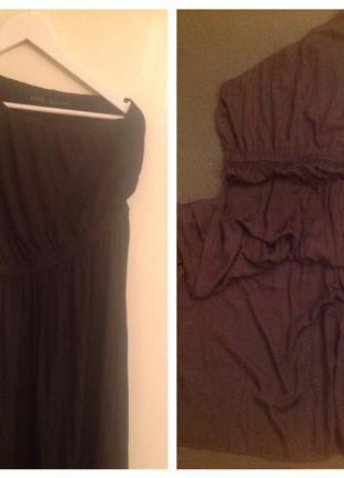 Длинное (в пол) платье