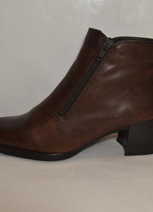 """Р.37,5-38 германия, """"janet d."""", 100% натуральная  кожа! комфортные, качественные ботинки ботильоны"""