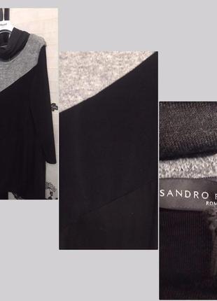 Последний размер  стильное платье итальянского бренда sandro ferrone