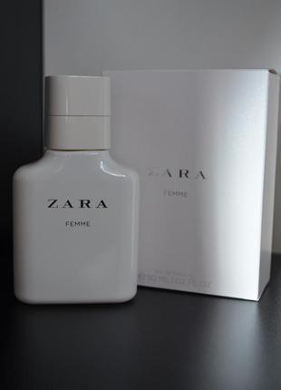 Туалетная вода zara femme, 30 ml