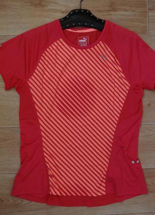 Puma спортивная футболка- топ l размера
