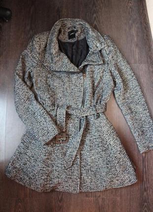Модное твидовое пальто asos