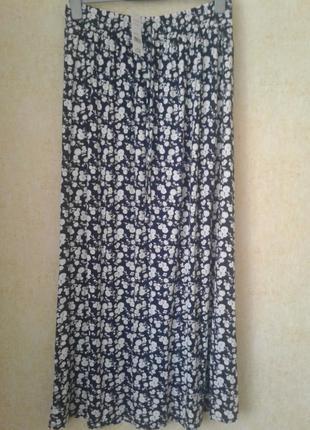 Новая юбка вискоза трикораж размер 14 george