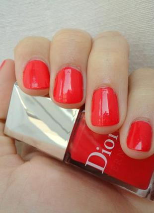 Лак для ногтей диор dior vernis тон 537 riviera