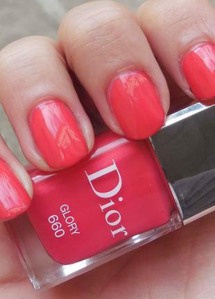 Лак для ногтей диор dior vernis тон 660 glory