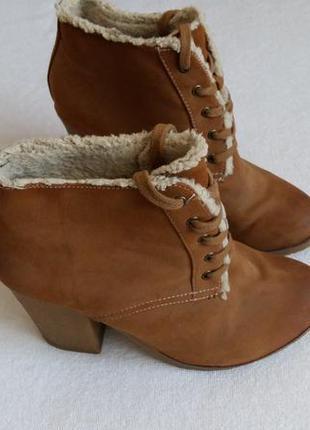 Полусапожки. ботинки. 37. pull&bear