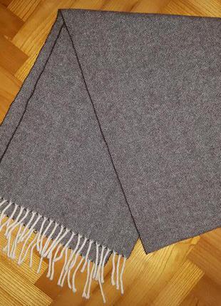Теплейший шерстяной шарф, классика от швейцарского бренда paul kehl!