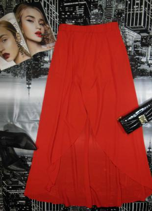 Стильная юбка с шортиками