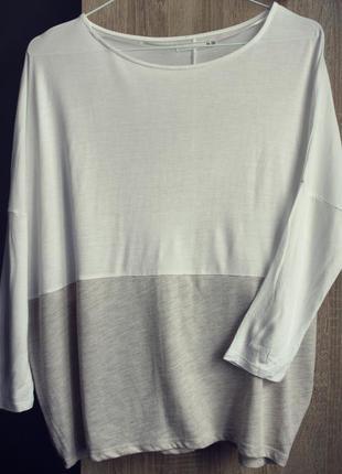 Укорочена котонова блуза топ lft м