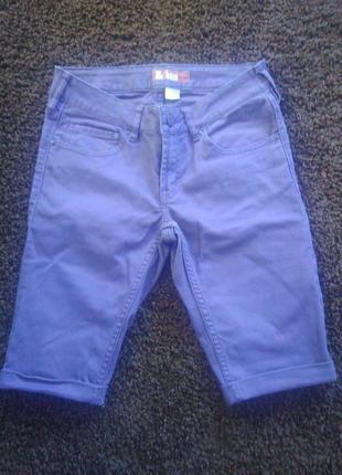 Xs-s)джинсовые капри