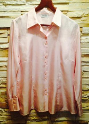 Элегантная блуза известного немецкого бренда basler, р.52-54