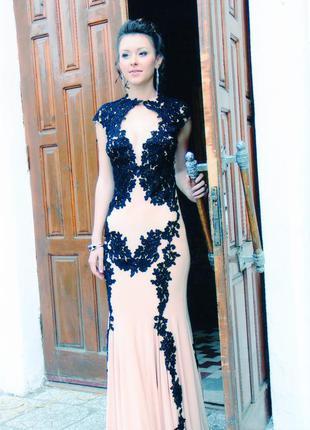 Выпускное вечернее платье jovani