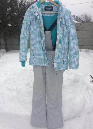 Весенний лыжный костюм женский купить