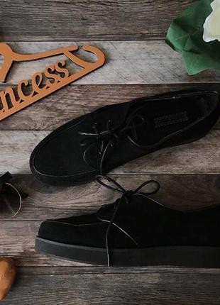 Базовые туфли-криперы на весенне-осенний сезон    sh0718    deena&ozzy
