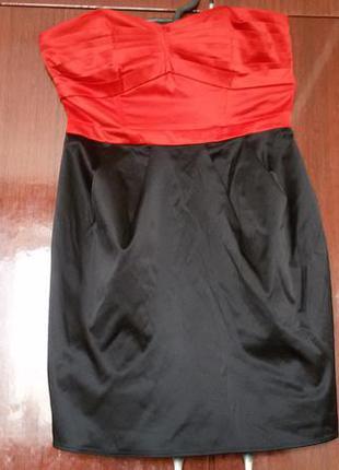 Стильное платье бюстье
