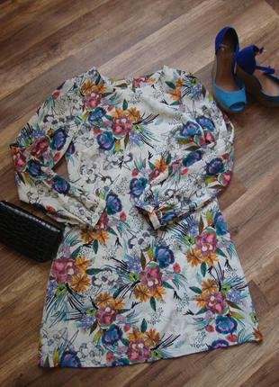 Дуже класна сукня в квіти