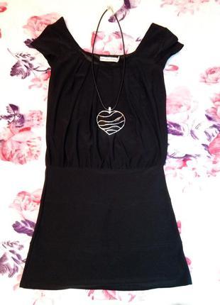 Платье черное от gloria jeans