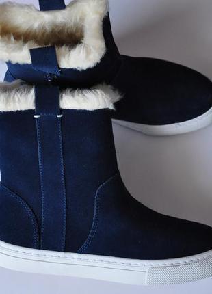 Зимние сапоги ботинки zara демисезонные