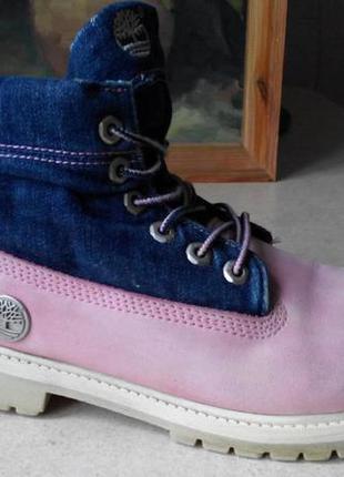 Ботинки timberland 38 кожа ros
