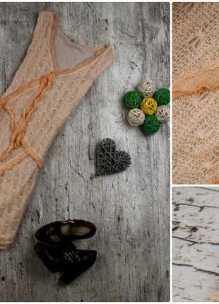 Платье вязаное от tfnc london